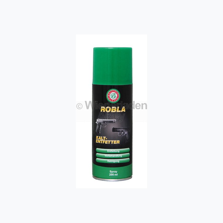 BALLISTOL Robla Kaltentfetter und Reinigungsspray, Dose mit 200 ml Inhalt