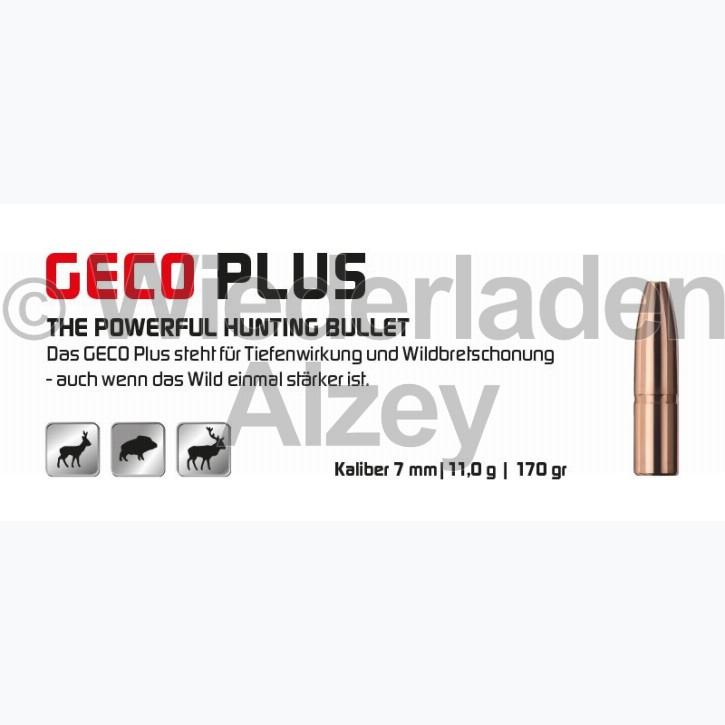 GECO Geschosse, .284, 170 grain, 11,0 g, Plus
