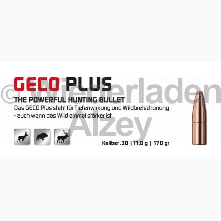 GECO Geschosse, .308, 170 grain, 11,0 g, Plus