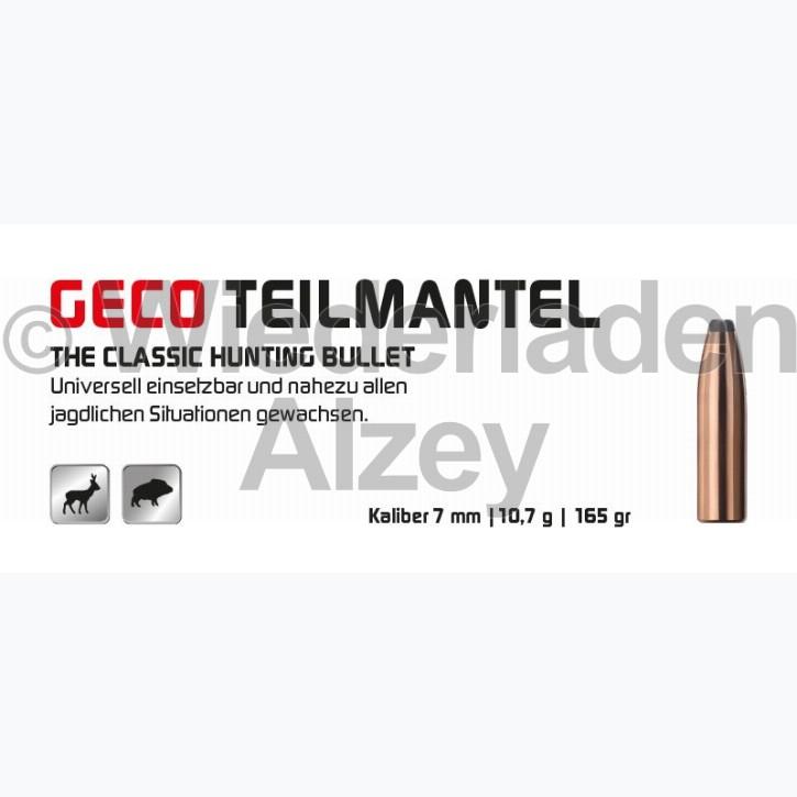 GECO Geschosse, .284, 165 grain, 10,7 g, Teilmantel