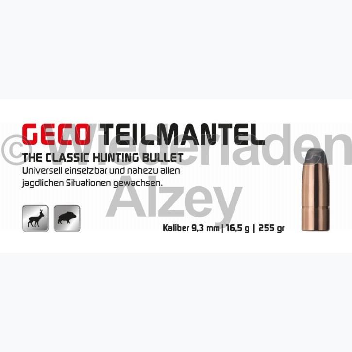 GECO Geschosse, .366, 255 grain, 16,5 g, Teilmantel