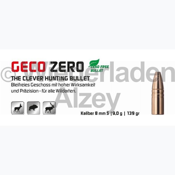 GECO Geschosse, .323, 139 grain, 9,0 g, Zero