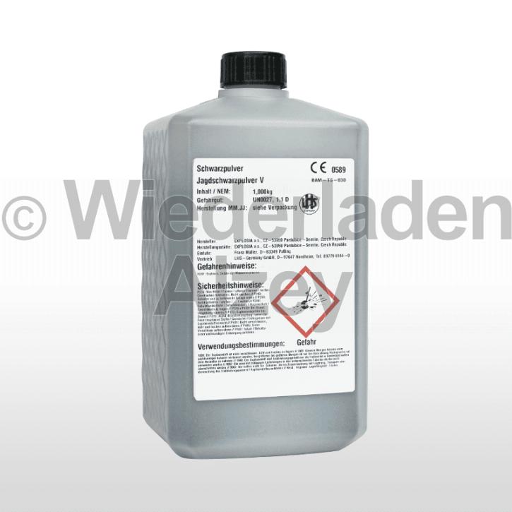 EXPLOSIA-Schwarzpulver Nr. 0, Dose mit 1000 Gramm
