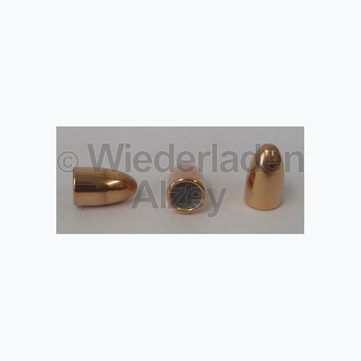 .355, 115 grain, GECO Geschosse, Vollmantel Rundkopf, Art.-Nr.: 2318141, neutrale Verpackung