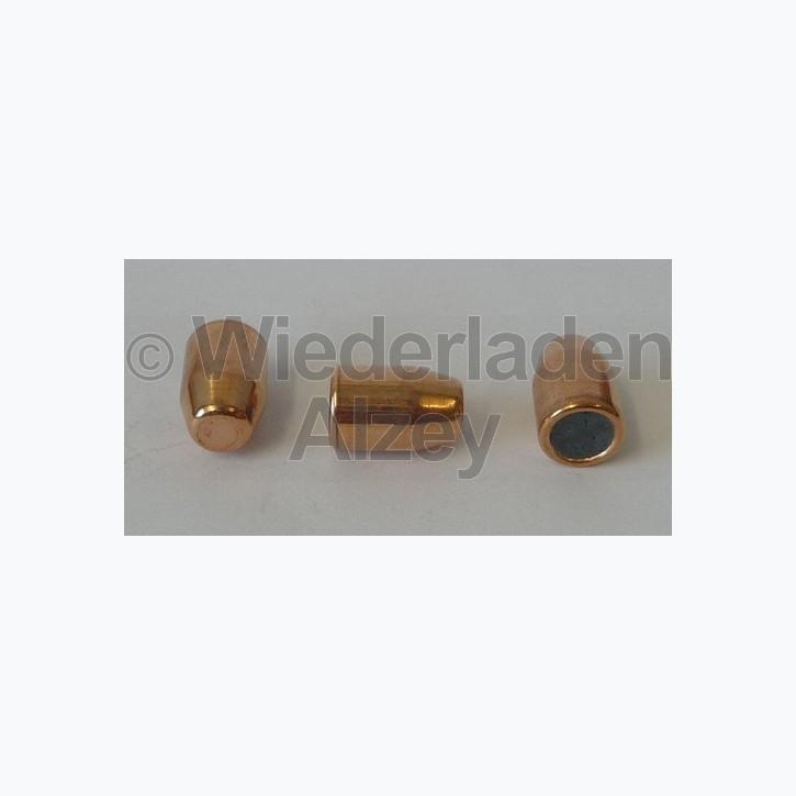 .401, 180 grain, GECO Geschosse, Vollmantel Flachkopf, Art.-Nr.: 2318150, neutrale Verpackung