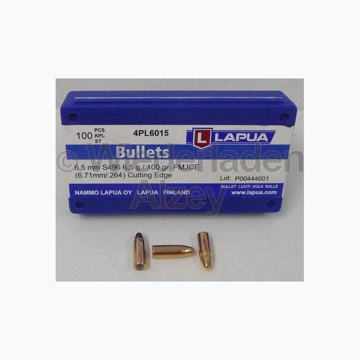 Lapua Geschosse, .264 / 6,5 mm, 100 grain, FJ-Match Cutting Edge, S496