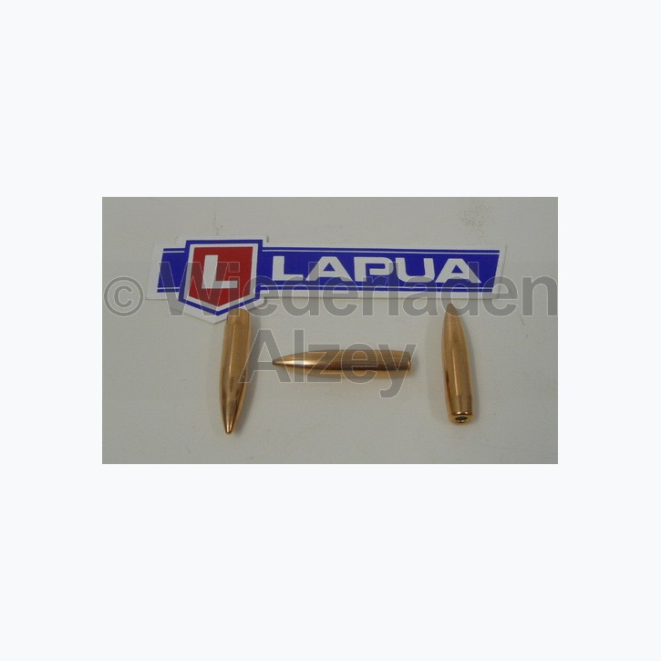 Lapua Geschosse, .264 / 6,5 mm, 144 grain, Vollmantel Boat Tail, B343, neutrale Verpackung