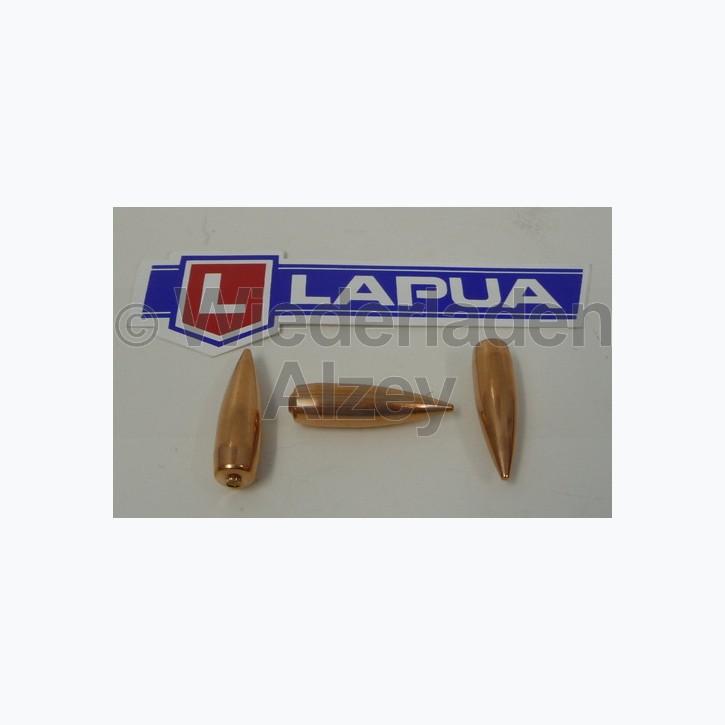 Lapua Geschosse, .308, 150 grain, Vollmantel Boat Tail, Lock-Base, B466, neutrale Verpackung