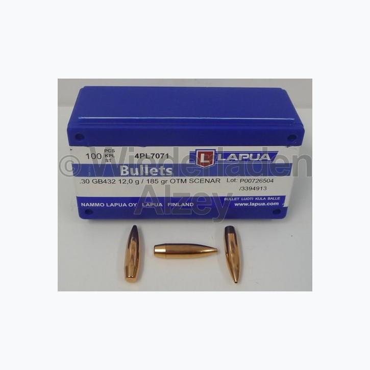 Lapua Geschosse, .308, 185 grain HPBT, Scenar, GB432