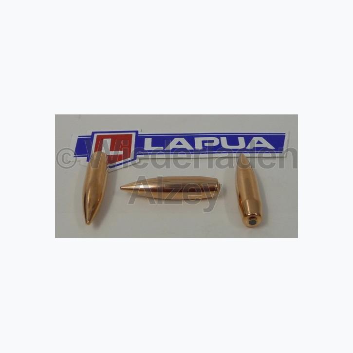 Lapua Geschosse, .338, 250 grain, Vollmantel Boat Tail, Lock-Base, B408, neutrale Verpackung