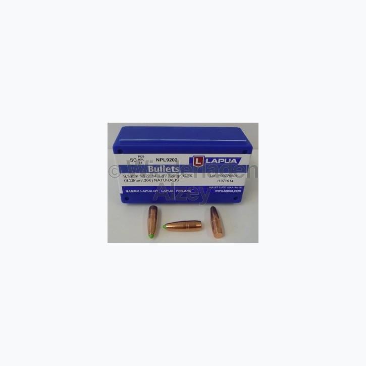 Lapua Geschosse, .366 / 9,3 mm, 250 grain, Naturalis, BLEIFREI, N560