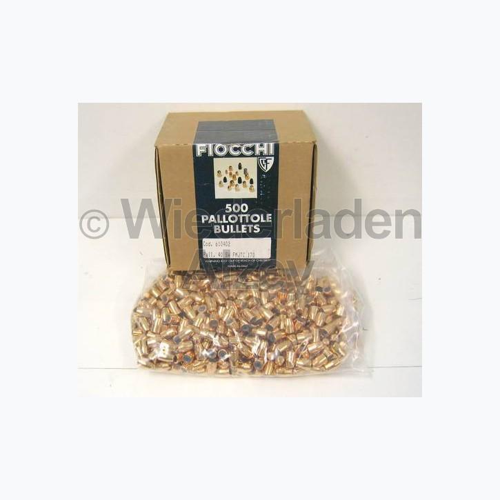 .40 S&W, 170 grain, Fiocchi Geschosse, TC-VM, Art.-Nr.: 53930