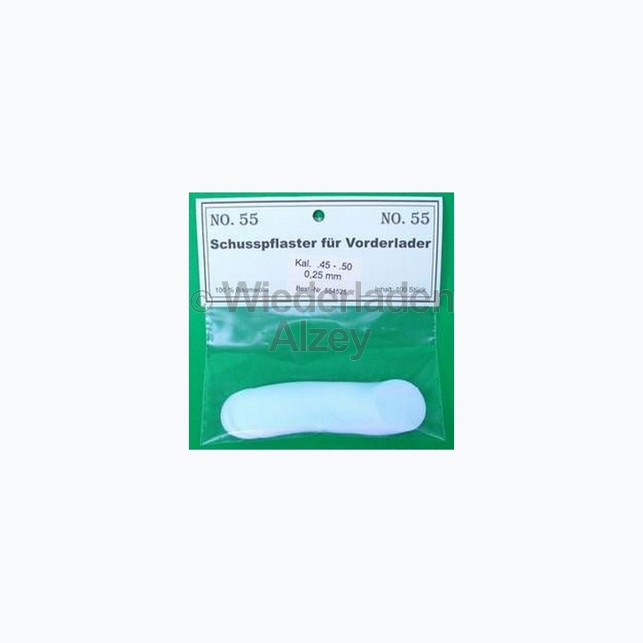 .36 - .41, 0,13 mm dick, 100 Stück