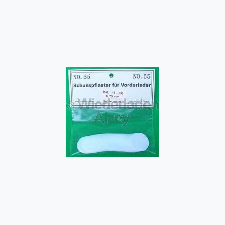 .45 - .50, 0,28 mm dick, 100 Stück