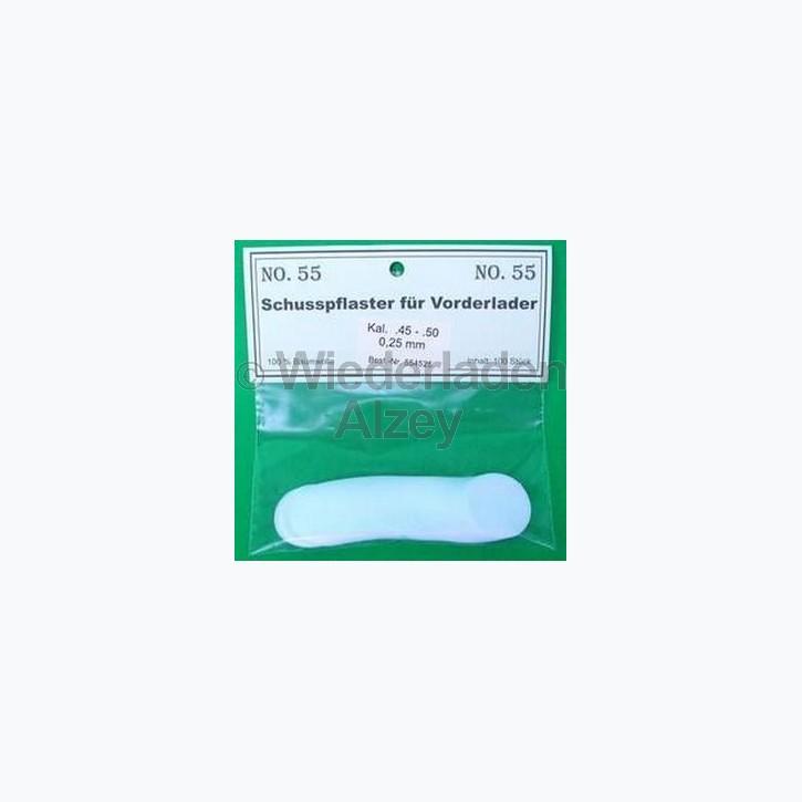 .54 - .58, 0,31 mm dick, 100 Stück