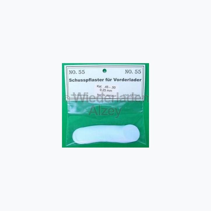 .62 - .69, 0,13 mm dick, 100 Stück