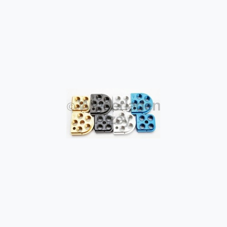 Dillon XL 650 / XL 750, Matrizensockel, Kopfplatte, blau eloxiert Art.-Nr.: 62136