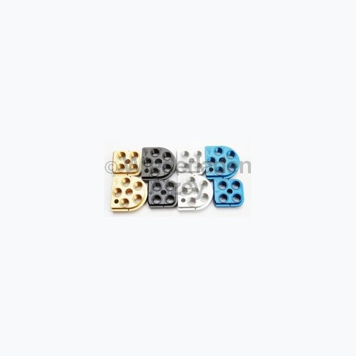 Dillon XL 650 / XL 750, Matrizensockel, Kopfplatte, silber eloxiert Art.-Nr.: 62139