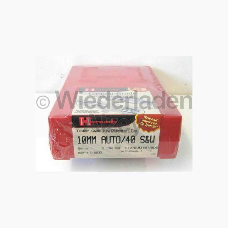 10 mm Auto / .40 S&W Hornady Matrizensatz, Hartmetall, Art-Nr.: 546533
