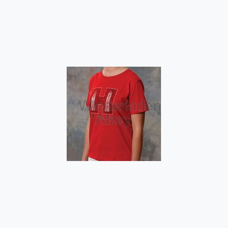 Hornady T-Shirt Youth Red, Größe L, Art.-Nr.: 99592L