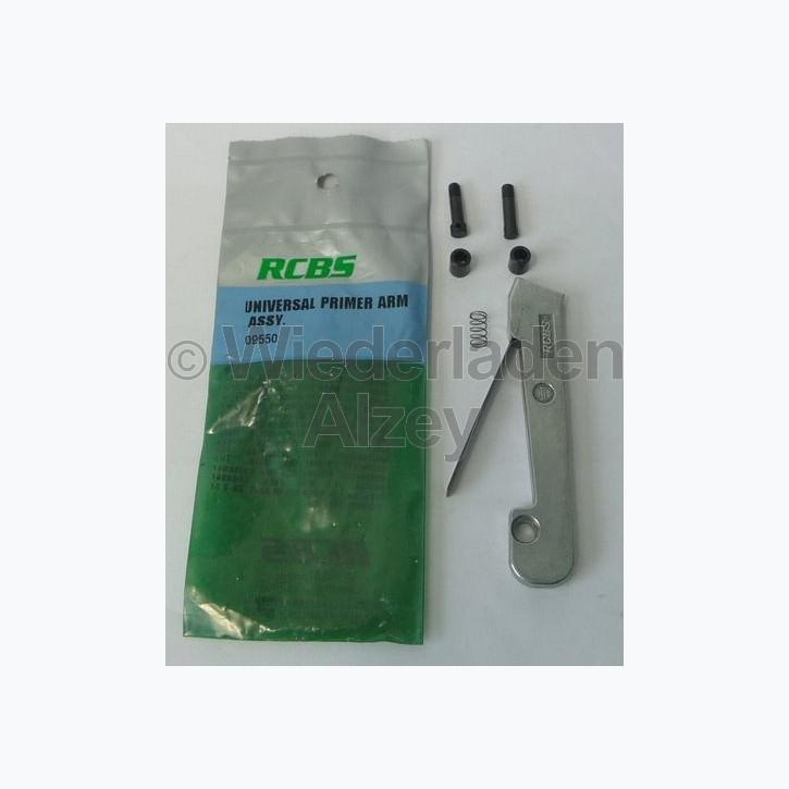 RCBS, Zündhütchensetzarm, large und small für ältere RC-Presse, Art.-Nr.: 09550