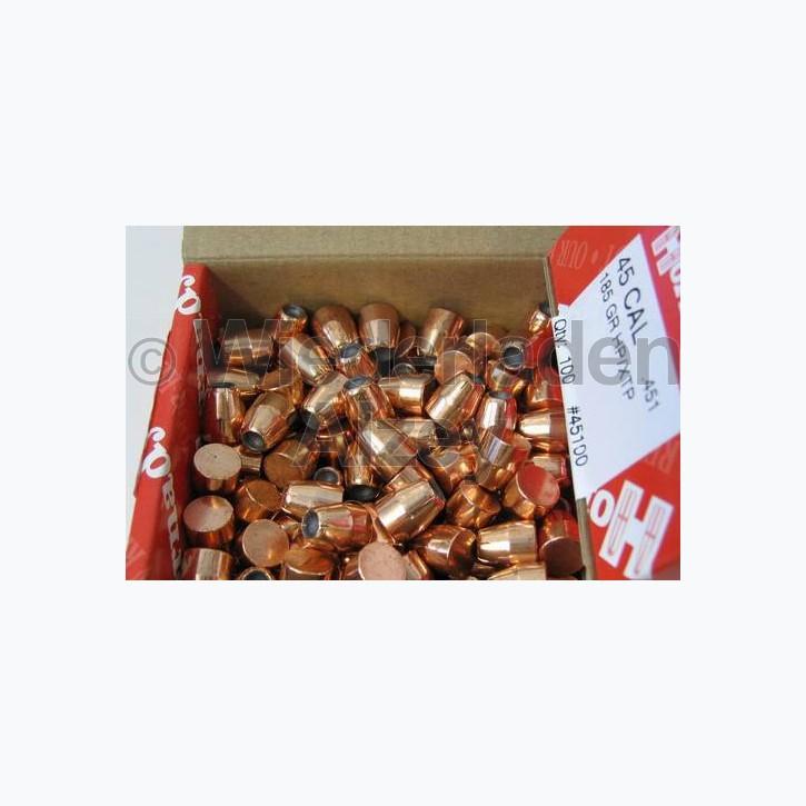 .451, 185 grain, Hornady Geschosse, HP/XTP, Art.-Nr.: 45100