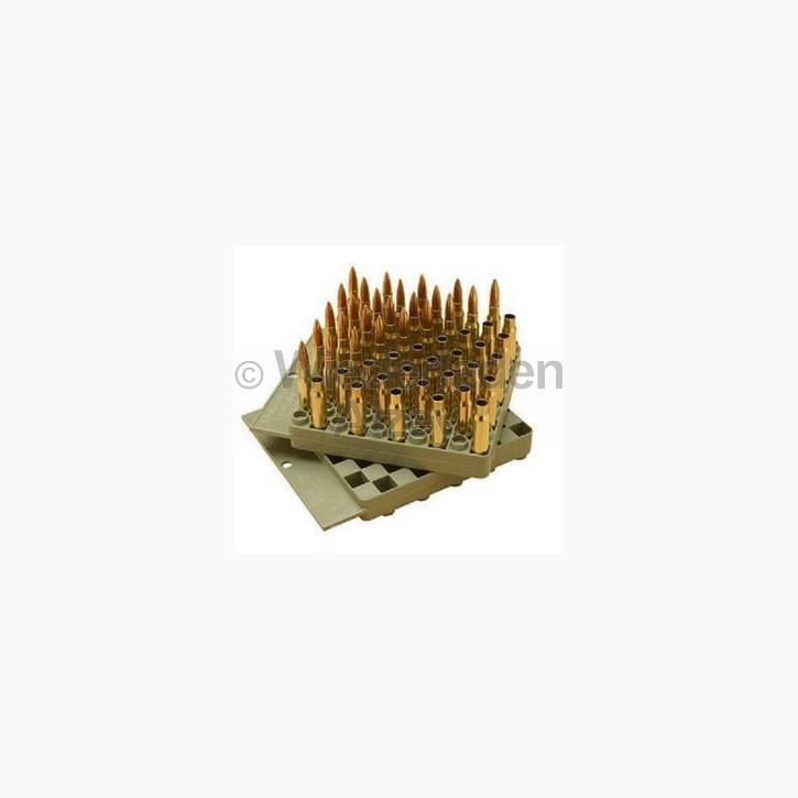 MTM Universal Ladebrett für Patronen von .17 bis .458, grau, Art.-Nr.: LT5043