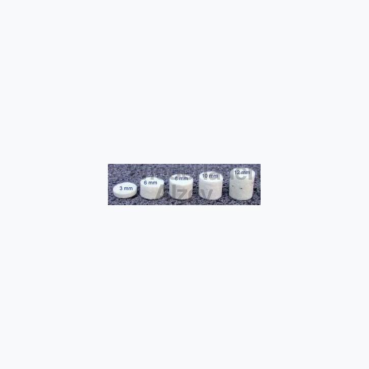 Dämmfilze, .44/.45, Stärke 10 mm, 200 Stück pro Verpackung