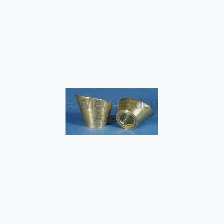 Feuerschirm für Perkussionswaffen, für .250 x 28 Pistons, Messing, Art.-Nr.. FCS-2