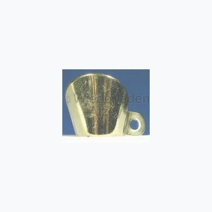 Feuerschirm für Steinschlossmusketen, ohne Gravur, Messing, 2-Pkt.-befestigung, Art.-Nr.. FG2P-B