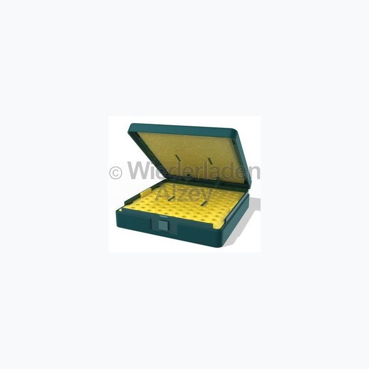 H&N Match Box für 100 Luftgewehrkugeln, petrol