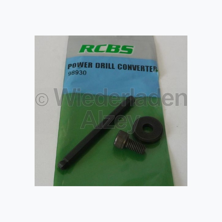 RCBS Bohrmaschinenadapter für Hülsentrimmer, Art.-Nr.: 98930