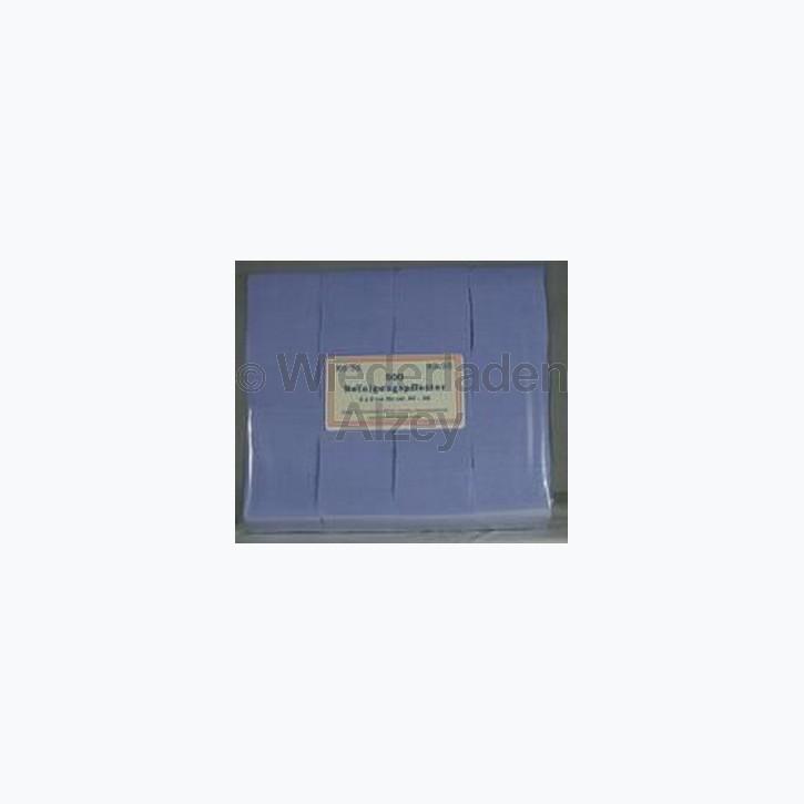 Reinigungspflaster für .30 - .41, Größe 4 x 4 cm, 500 Stück