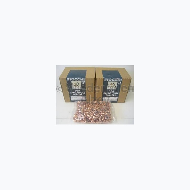 Fiocchi Geschosse, 9 mm Para, 115 grain, VM, Art.-Nr.: 53911