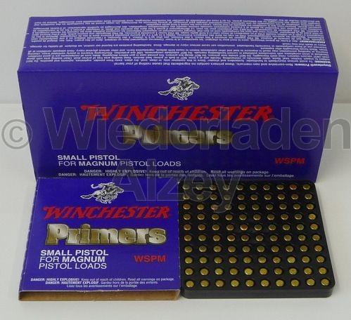Winchester, Small Pistol Magnum Zündhütchen