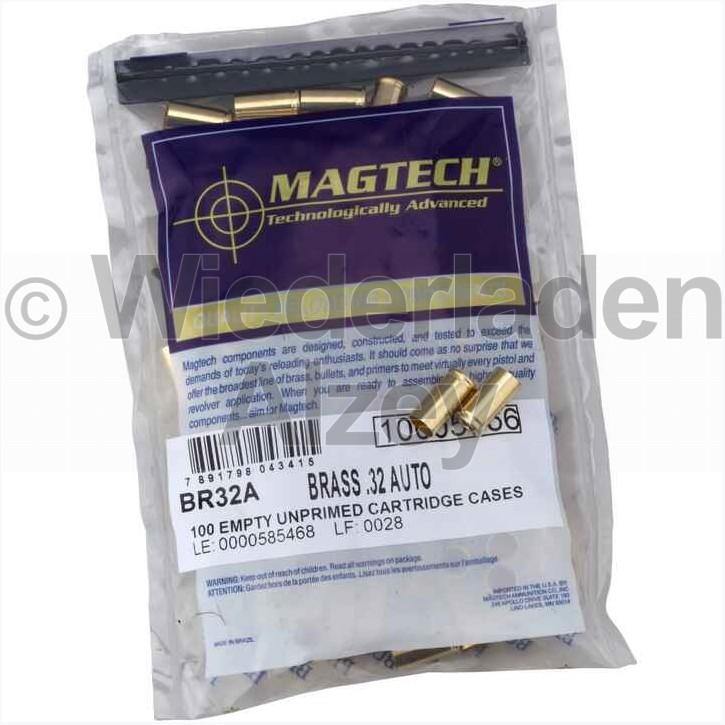 7,65mm Browning Magtech Hülsen