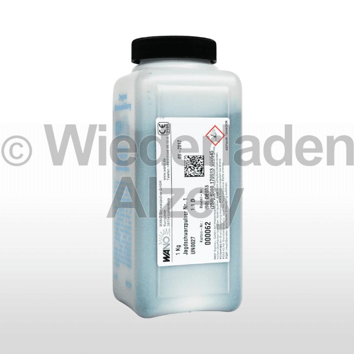 WANO-Schwarzpulver #1, Dose mit 1000 Gramm
