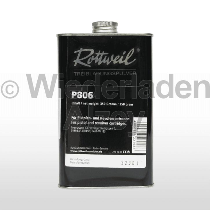 Rottweil P 806, Dose mit 350 Gramm