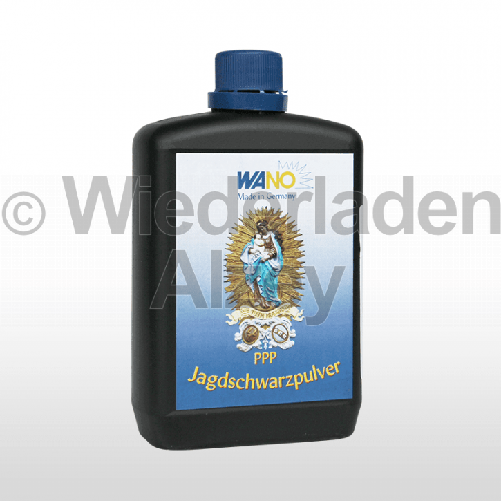 WANO-Schwarzpulver PPP, Dose mit 500 Gramm