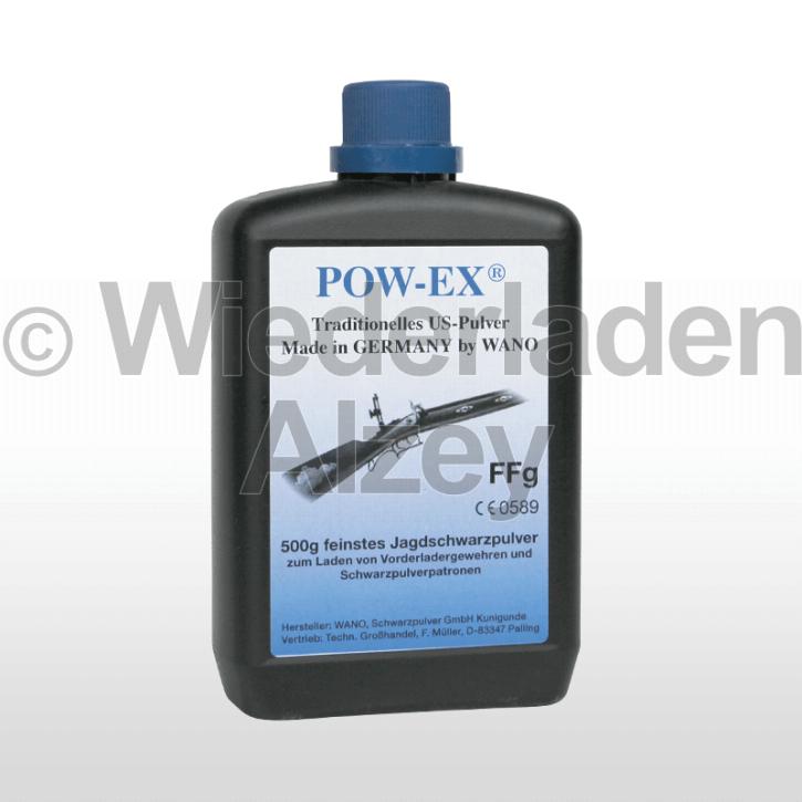 POW-EX Schwarzpulver FFg, Dose mit 500 Gramm