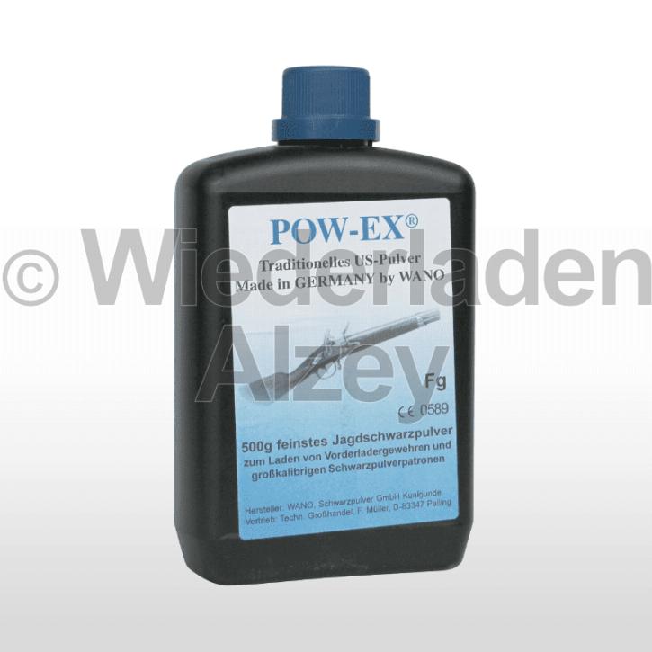 POW-EX Schwarzpulver Fg, Dose mit 500 Gramm