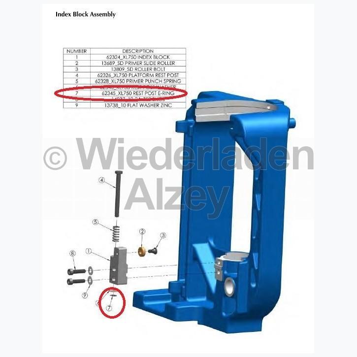 Dillon XL 750, Sicherungsring - Rest Post E-Ring, Art.-Nr.: 62345