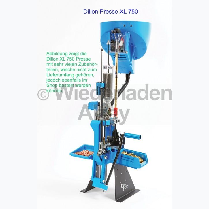 Dillon XL 750 Wiederladepresse in 9 mm Para, icl. Pulverfüllgerät und akustischer Zündhütchenüberwachung und Conversion-Kit 9mm Para, Art.-Nr.: 75071