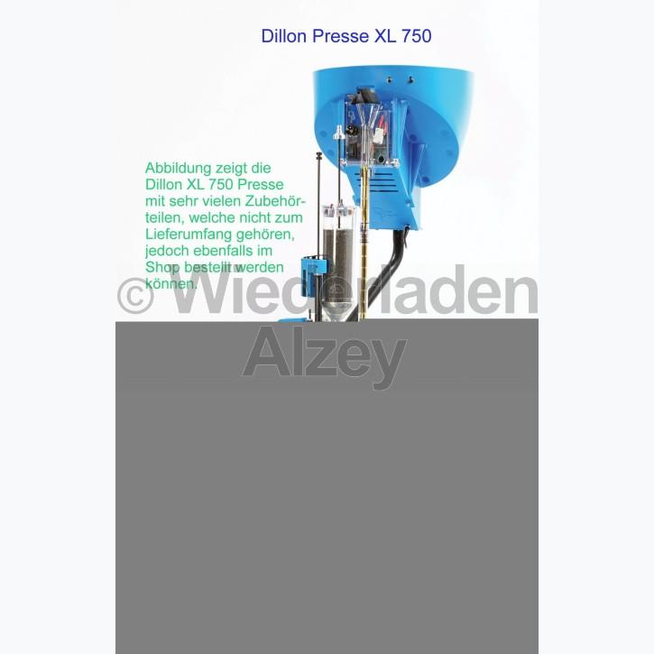 Dillon XL 750 Wiederladepresse in .38 / .357 Mag,, icl. Pulverfüllgerät und akustischer Zündhütchenüberwachung und Conversion-Kit .357 Mag., Art.-Nr.: 75043