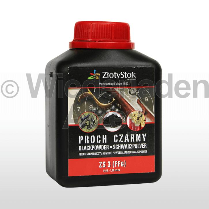 ZlotyStok Schwarzpulver Nr. 3, Dose mit 500 Gramm