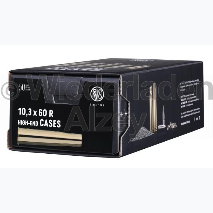 10,3 x 60 R RWS Hülsen, neutrale Verpackung